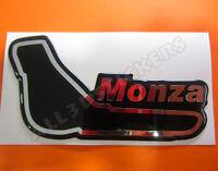 Pegatina Relieve 3D Circuito Monza 13x7 cm
