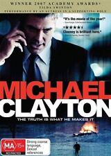 Michael Clayton DVD George Clooney Sydney Pollack Tilda Swinton Tom Wilkinson
