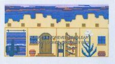 """PETITEPOINT """"3D HOUSE SOUTHWEST"""" #18 CT  MONO CANVAS!!!"""