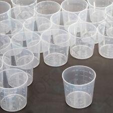 50x QUALITY Medical Measuring Cups 60ml/2oz Mouthwash/Pills/Medicine Pots Liquid