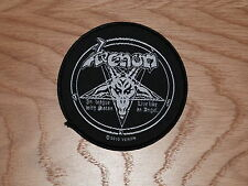 VENOM - IN LEAGUE WITH SATAN (NEW) SEW ON W-PATCH OFFICIAL BAND MERCHANDISE