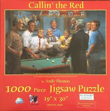 "SunsOut Callin' the Red 1000 pc Jigsaw Puzzle by Andy Thomas 19"" x 30"""