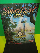 NFL- SUPER BOWL XXXI-31 GAME PROGRAM- PETE ROZELLE MEMORIAM-- PATS VS.PACKERS