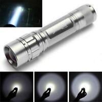 Focus 3000 Lumens  CREE XML XPE T6 Zoomable LED 18650 Flashlight Powerful Torch