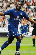 CALCIO FOTO > yakubu Everton 2007-08