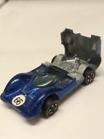 Hot Wheels Redline Chaparral 2G No.66 1968 Blue Made in Hong Kong