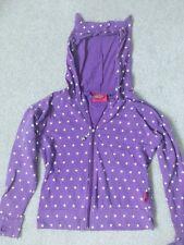 poka dot hooded jacket with ears