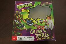 Calling All Turtles Action Battle Game MIB 2013 TMNT Orange Glasses Variant