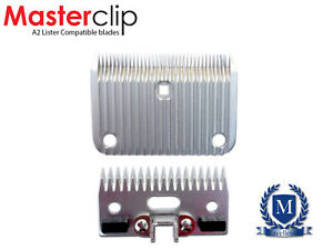 Horse Clipper Blades Masterclip Clipping Compatible with Lister A2 🐴
