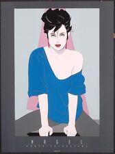 Nagel Patrick BLUE SWEATER OFF SHOULDER Art Print Hot