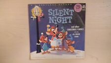 Disneyland Records SILENT NIGHT 45 RPM EP 1961