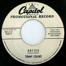 TOMMY COLLINS 45 United/Boob-I-Lak CAPITOL country VG+ promo lc288