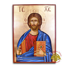Orthodox Icon Pantocrator Handpainted Byzantine Hagiography Orthodoxe Ikone