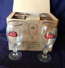 Rare Stella Artois Beer Glasses 500ml x 6