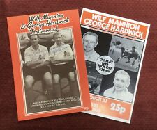 More details for wilf mannion & george hardwick autographs