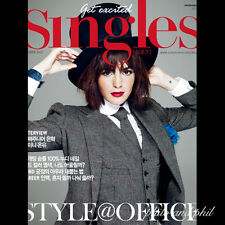 Singles Korea Magazine October 2012 Super Junior EunHyuk SHinee Onew kpop