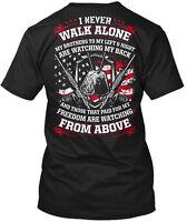 Veteran- I Never Walk Alone (mp) Us Veteran My Hanes Tagless Tee T-Shirt
