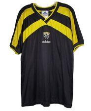 Vintage 90's Adidas Columbus Crew MLS Soccer Bumblebee Jersey size Large