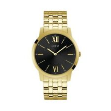 Authentic GUESS Watch Men's Estate W1073G2 Gold Tone