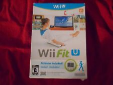 Wii FIT U WITH FIT METER NINTENDO Wii U FACTORY SEALED!!!  FREE FAST SHIP!!!!!