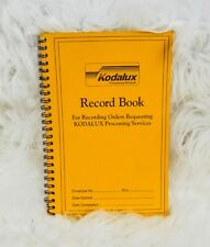 Vintage Kodalux Record Book Processing Services