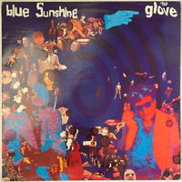 THE GLOVE BLUE SUNSHINE LP BLUE VINYL USA 1990 ROUGH TRADE PRO CLEANED