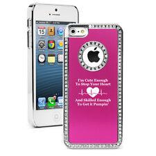 For iPhone 4 5 5s 5c 6 6s Plus Rhinestone Crystal Bling Case Cute Skilled Nurse