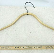 Vintage Bent Wooden Hanger New Ulm Laundry Minnesota Phoenix Products