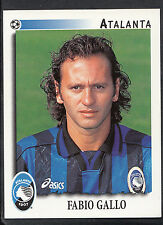 Panini calciatori football 1997 sticker, nº 17, atalanta-fabio gallo