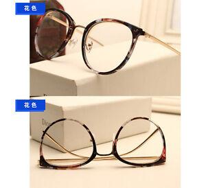 Cat eye Vintage Men Women Eyeglasses Frames Glasses Retro Spectacles Eyewear