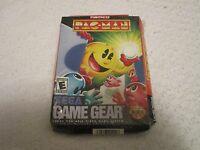 Sega Game Gear Pac-Man Video Game Namco