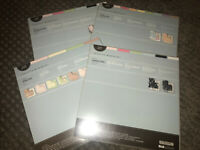86pc DELIGHT Lot Creative Memories 12x12 Kit Stickers Scrapbook Paper Baby Girl