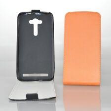 Premium Protection Bag Phone Case Cover Pouch Slim Flex Flip Shell Bumper LG G4c Orange