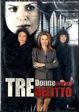 TRE DONNE PER UN DELITTO - DVD NEW Sigillato Editoriale