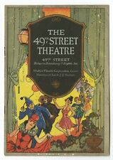 The Wild Duck - Vintage Playbill - 49th Street Theatre, New York, 1929