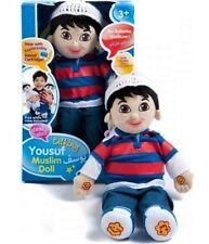 YOUSAF: English/Arabic Speaking Muslim Doll Yousaf-Talking Islamic Toy-Desi Doll