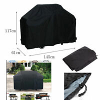 "58"" BBQ Grill Cover Gas Barbecue Heavy Duty Waterproof Outdoor Weber Black Cover"