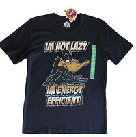 New Looney Tunes Shirt ~ Mens S ~ DAFFY DUCK Shirt ~ MBC