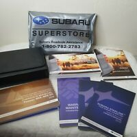 2016 Subaru Forester Owners User Manual with Document Wallet as Pictured