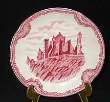 Johnson Brothers England old Britain Castles rot Untertasse groß 15,5cm (Suppe)
