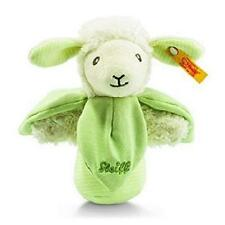 New Steiff Luxury BABY Lenny Lamb Grip toy Teddy BEAR + Steiff Gift Box 237980