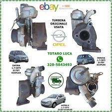 Turbina opel astra h meriva 1.7 CDTi  Z17DTJ Z17DTR 898102-3711 turbo zafira