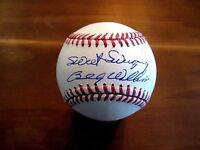 BILLY WILLIAMS SWEET SWINGING HOF ROY CHICAGO CUBS A'S SIGNED AUTO BASEBALL JSA