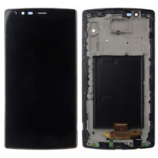 For LG G4 H815 LCD Display Touch Screen Digitizer Assembly Frame Black H810 H818