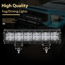 12inch DRL Super Brighter Dual Row LED Light Bar Combo Driving Light For Pickup