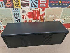 Case Logic CD Tower Storage Box Black 18 Disc Holder With Lid