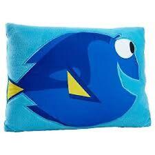 Disney Finding Doris  Toddler Bed  Decorative Pillow  Boys  - Blue