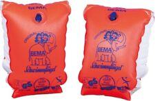 BEMA Schwimmflügel 1-6 Jahre 11-30 kg Gr. 0 orange Doppelkammer Schwimmärmel