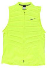 Nike AeroLoft 800 Down Packable Lightweight Running Vest Volt Medium 616240 702