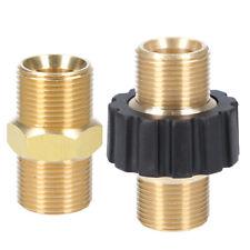 Doppelnippel M22x1,5 AG Schlauch-Verbinder Adapter Kupplung f. Hochdruckreiniger